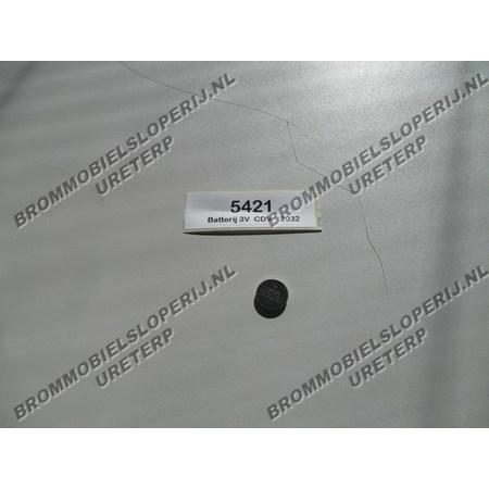 Batterij CR2032 (3V)