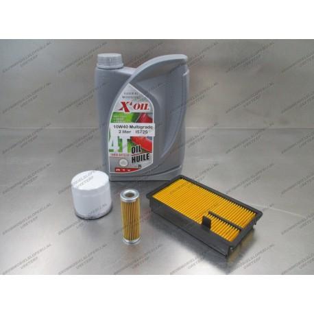 Onderhoudspakket olie en filters Kubota 1