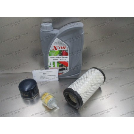 Onderhoudspakket olie en filters Lombardini III 3