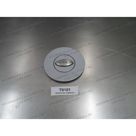 Wieldop aluminum velg Micrcocar M.Go (1) en M.Go(2)