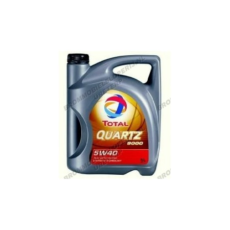Total olie 5W40 per liter