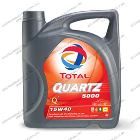 Total olie 15W40 Quartz 5000