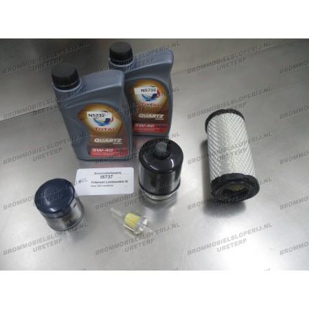 Onderhoudspakket olie en filters Lombardini IV DCI Motor
