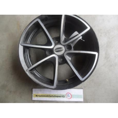 Velg Kaal Aluminium Zwart Microcar Mgo 2 14 Inch Brommobielsloperijnl