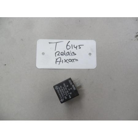 Alarm / Knipperlicht relais 4-polig (zwart) Aixam/Microcar/Chatenet